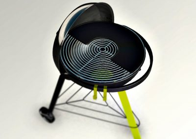 Design produit_Gamme de Barbecues
